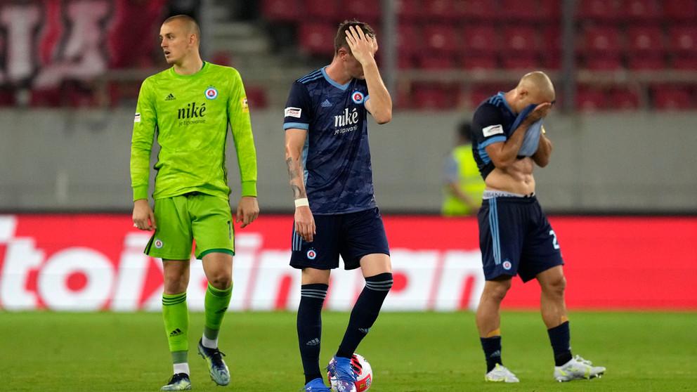 Sklamanie v pohárovej Európe. Slovan aj Žilina s výpraskom